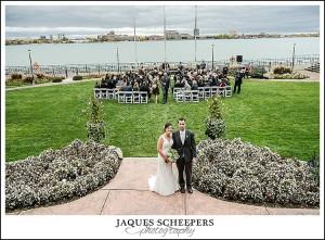 Canadian Club wedding ceremony photos