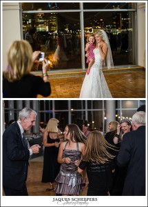 st clair centre for the arts wedding reception photo