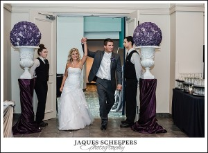 St clair centre for the arts wedding photo
